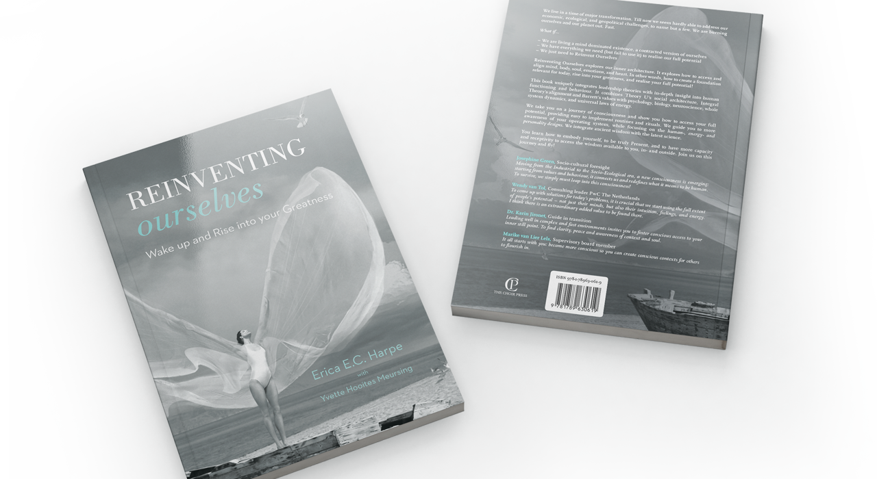 Reinventing Ourselves Cover Book Erica Harpe